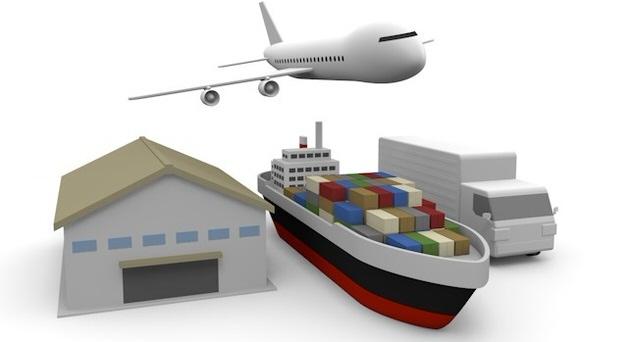 船や飛行機のイラスト