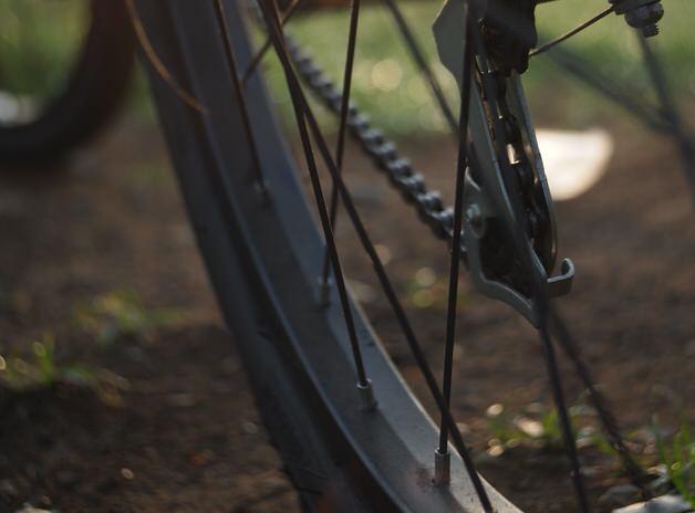 クロスバイクのタイヤ