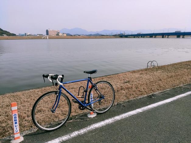 直方北九州自転車道の外観