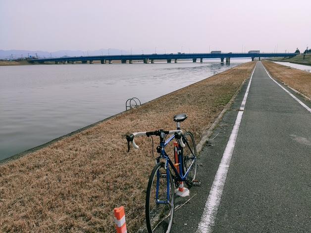 直方北九州自転車道の道