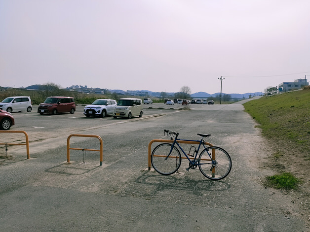 直方北九州自転車道の終点