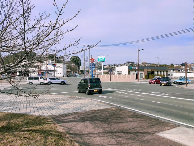 遠賀宗像自転車道の街中