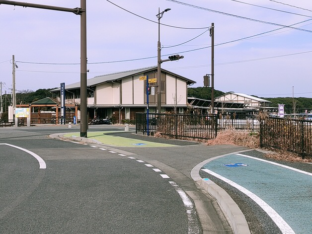遠賀宗像自転車道 道の駅むなかたに到着