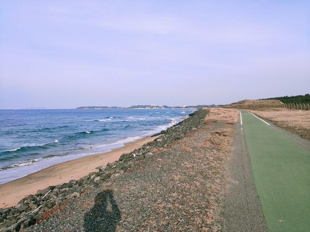 遠賀宗像自転車道 海沿い